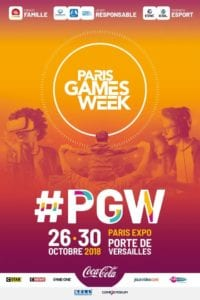 Affiche de la Paris Games Week 2018