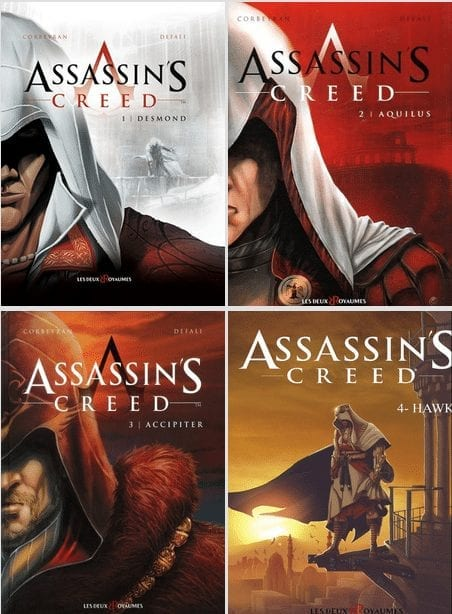 BD Assassin Creed