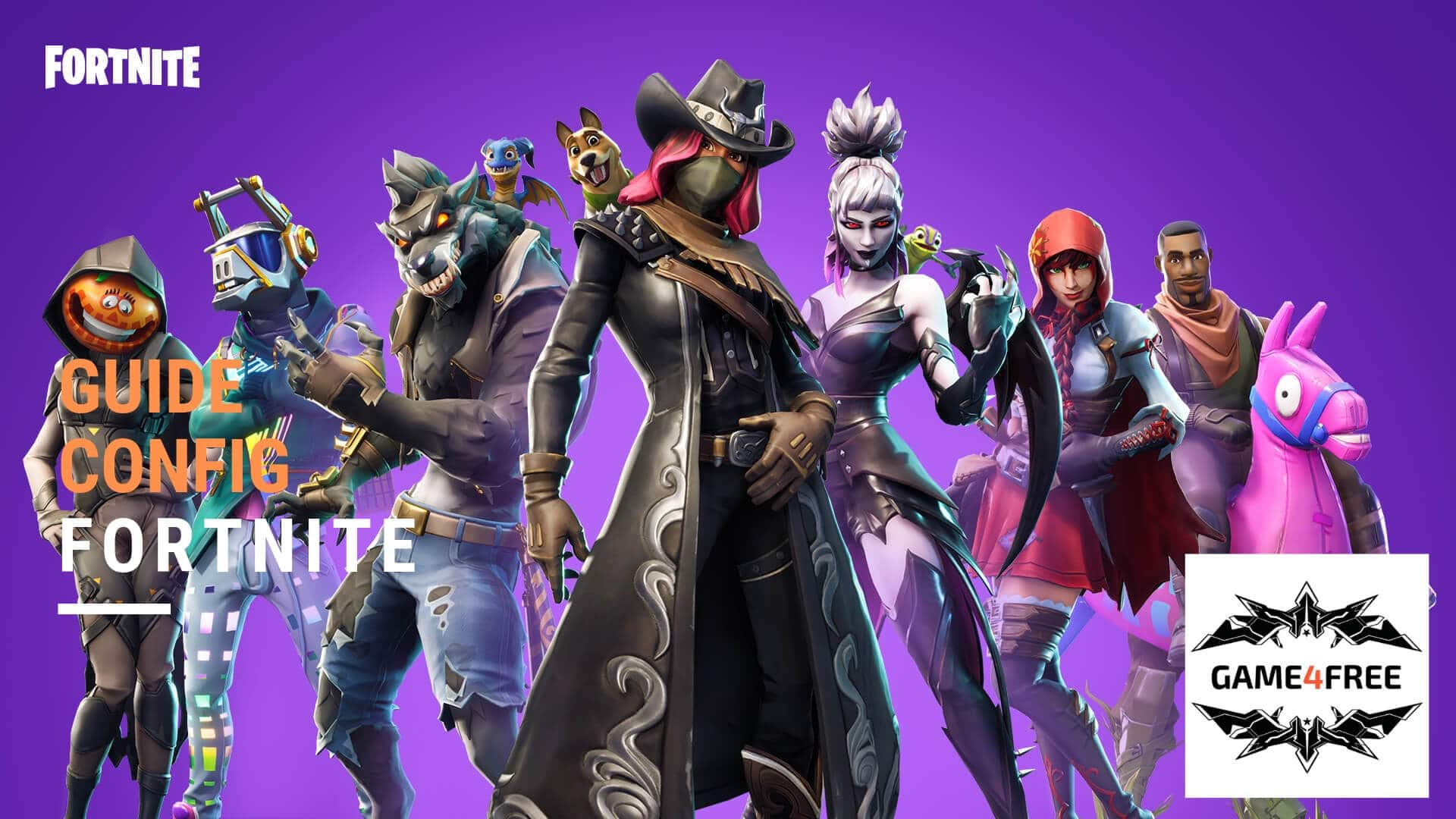 Guide Config Fortnite 2019